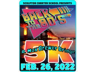 Back to the 80s 5k Flyer