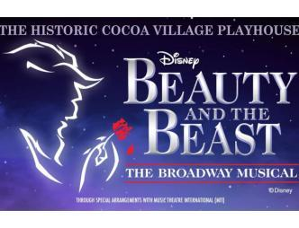 Cocoa Village Playhouse Beauty and the Beast Flyer
