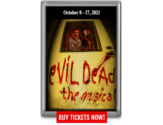 Evil Dead Musical Showbox with dates
