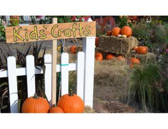 Kids Craft Area at Rockledge Gardens