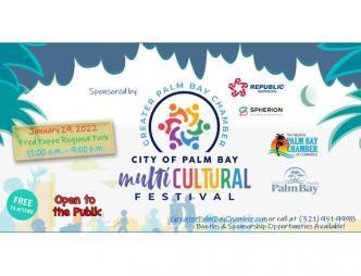 Palm Bay Multicultural Festival Flyer