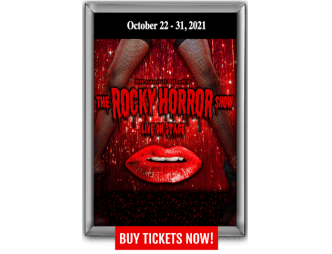 The Rocky Horror Show Flyer with dates