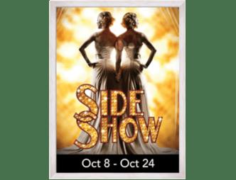 Side Show at The Henegar Center Flyer