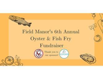 Field Manor Fish Fry Banner