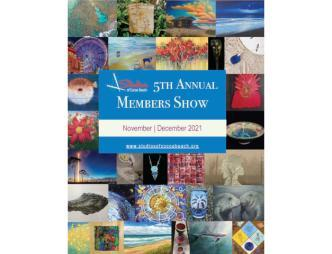Studios of Cocoa Beach 5th Annual Members Show Poster