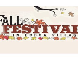Cocoa Village Fall Festival Flyer
