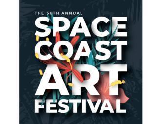 2021 Space Coast Art Festival Logo