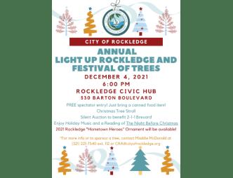 Light Up Rockledge Poster