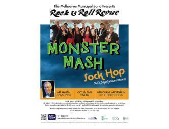 Monster Mash Sock Hop Flyer