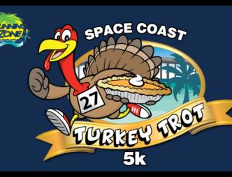 Space Coast Turkey Trot 5k Poster