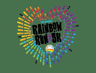 Rainbow Run 5k Logo