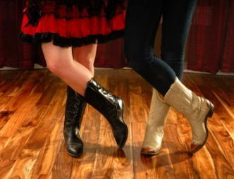 Line dance lessons at the Hurricane Creek Saloon in Downtown Melbourne