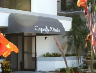 Cape Winds Resort Entrance