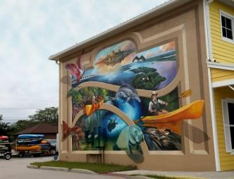 Downtown Titusville Mural