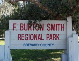 F. Burton Smith Regional Park Outdoor Sign