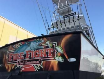 Fired Up Fishing Charters Aft