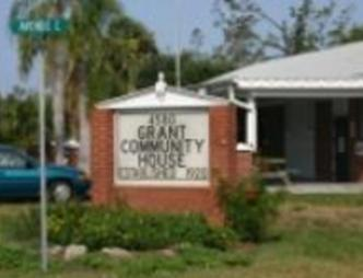 Grant Community Center Outdoor Sign