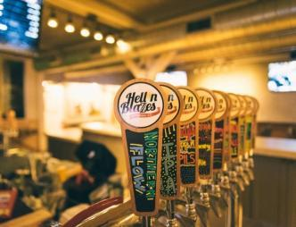 Hell 'n Blazes Brewing Company Taps