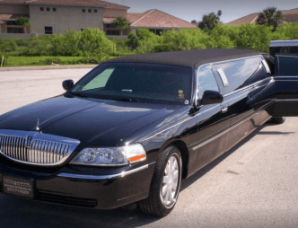 Stretch limousine from Hollywood Limousine of Brevard, LLC