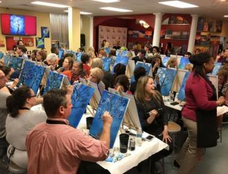 Painting with a Twist Class