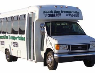 Van from Beachline Transportation