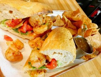 Third Culture Kitchen Shrimp Sandwich