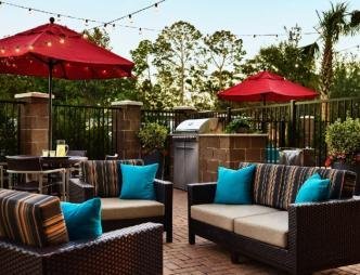 TownePlace Suites Titusville Outdoor Seating