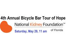4th Annual Bicycle Bar Tour of Hope logo