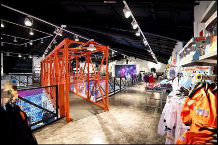 Newly renovated Space Shop at the Kennedy Space Center Visitor Complex