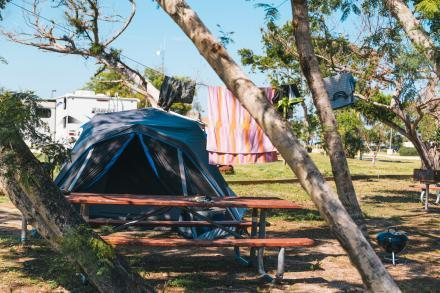 Camping at Jetty Park in Port Canaveral