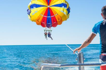 Parasailing in Cocoa Beach